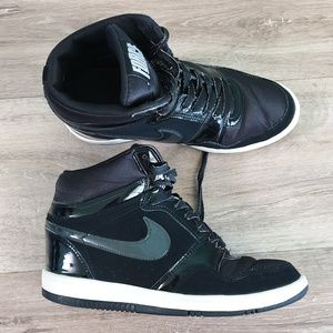 Nike Shoes - NIKE Force Sky High Black Sneakers size 9.5